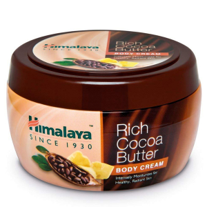 Крем для тела с маслом Какао Питание и Увлажнение Хималая (Cream Rich Cocoa Butter Himalaya), 200 мл.