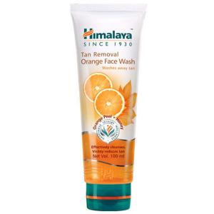 Очищающее средство для осветления кожи (Tan Removal Orange Face Wash Himalaya), 100 мл.