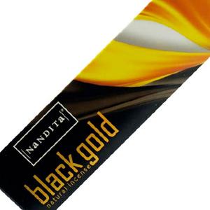 ароматические палочки Чёрное Золото Нандита (Black Gold Nandita), 15 гр.