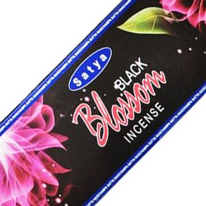 ароматические палочки Satya BLACK BLOSSOM, 20 гр.