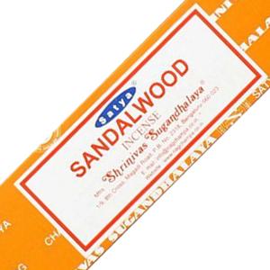 ароматические палочки Сандаловое дерево Сатья (Sandalwood Satya), 15 грамм