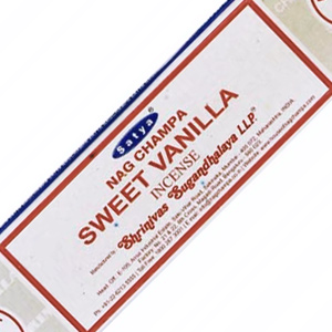 ароматические палочки Сладкая Ваниль Сатья (Sweet Vanilla Satya), 15 грамм