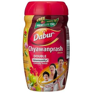 Чаванпраш Дабур Двойной иммунитет (Dabur Double Immunity Chyawanprash), 1000 гр.