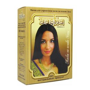 маска для укрепления волос на основе хны Aasha Herbals (против перхоти), 6 х 10 гр.