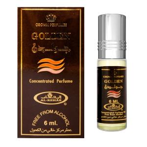 масляные духи Голден Аль Рехаб (Golden, Al Rehab), 6 мл.
