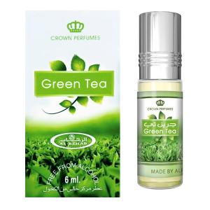 масляные духи Зелёный Чай Аль Рехаб (Green Tea Al-Rehab), 6 мл.