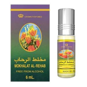 масляные арабские духи Мукхалат Аль Рехаб (Mokhalat Al Rehab), 6 мл.