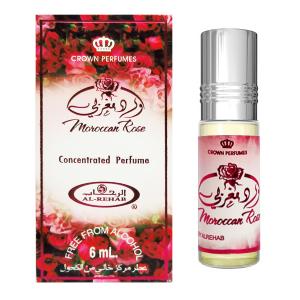 масляные духи Марокканская Роза Аль Рехаб (Moroccan Rose Al-Rehab), 6 мл.