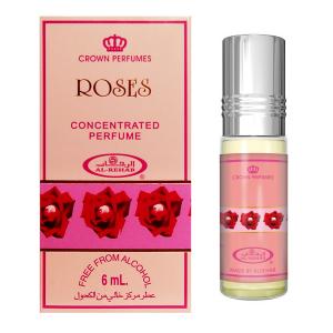 масляные духи Розы Аль Рехаб (Roses Al-Rehab), 6 мл.