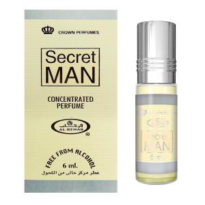 масляные арабские духи Сикрет Мэн Аль Рехаб (Secret Man Al Rehab), 6 мл.