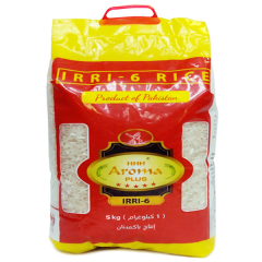 Рис длиннозёрный не пропаренный Aroma, 5 кг