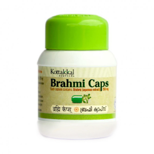 Брахми Арья Вадья Сала (Brahmi Caps Arya Vaidya Sala), 60 капсул