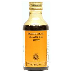 массажное масло Брахми Тайлам (Brahmi Tailam Kottakkal), 200 мл.