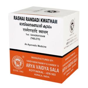 Раснаи Рандади Кватхам Арья Вайдья Сала (Rasnairandadi Kwatham AVS Kottakkal), 100 таблеток