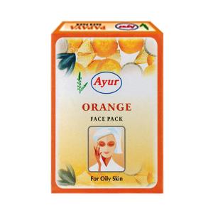 травяная маска для лица с апельсином для жирной кожи