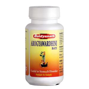 Арогьявардхини Бати (Arogyawardhini bati, Baidyanath), 80 таблеток