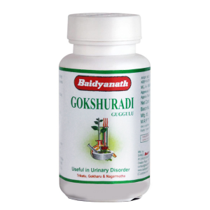Гокшуради Гуггул Байдианат (Gokshuradi Guggulu Baidyanath), 80 таблеток