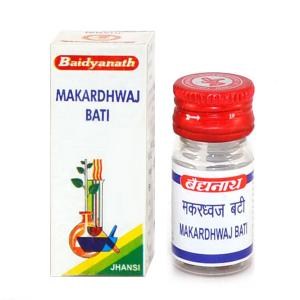 Макардхвадж Вати (Makardhwaj vati, Baidyanath ), 15 таблеток