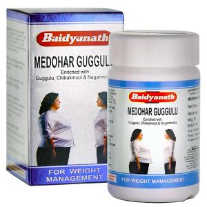 Медохар гуггули Байдианат (Medohar Guggulu Baidyanath), 120 таблеток