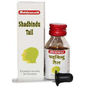капли в нос Шадбинду (Shadbindu Tail Baidyanath), 25 мл.