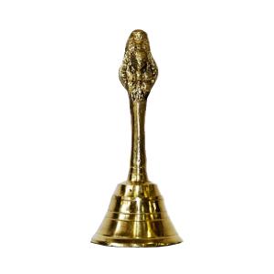 колокольчик Ганеша, латунь 9 см