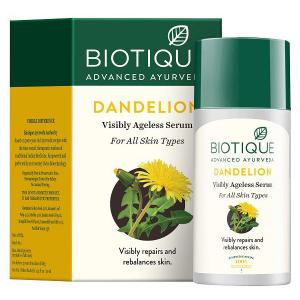 Омолаживающая сыворотка Био Одуванчик Биотик (Biotique Bio Dadelion), 40 мл.
