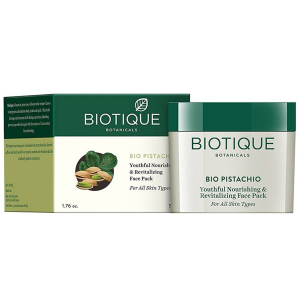 Омолаживающая маска для лица Биотик Фисташки (Biotique Bio Pistachio Face Pack), 50 гр