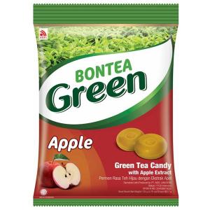 Леденцы с экстрактами зелёного чая и яблока (Bontea Green Apple) 135 гр.