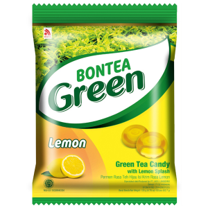 Леденцы с экстрактами зелёного чая и лимона (Bontea Green Lemon) 135 гр.