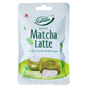 Конфеты с зелёным чаем и молоком Green Matcha Latte Bontea, 21 гр.
