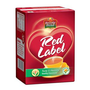 чёрный чай Ред Лейбл Брук Бонд (Red Label Brooke Bond), 250 грамм