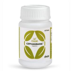 от заложенности носа Сефагрейн (Cephagraine Charak Pharma), 40 таблеток