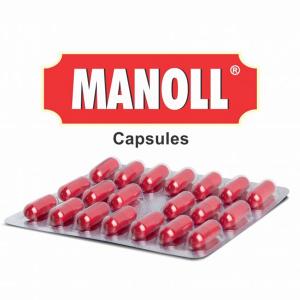 Антиоксидант и иммуномодулятор Манол чарак (Manoll Charak), 20 капсул
