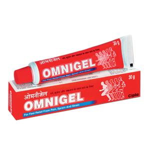 обезболивающий Гель Омнигель Cипла (Omnigel Cipla), 30 гр