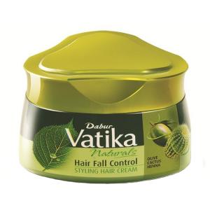 крем для волос Dabur Vatika Naturals контроль выпадения волос, 140 мл.