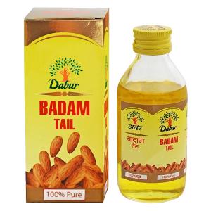масло миндальное Badam Tail (Бадам Тэил) 100% натуральное, 100 мл.