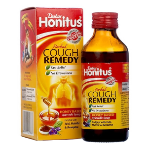 сироп от кашля Хонитус Дабур (Honitus Herbal Cough Remedy Dabur), 100 мл