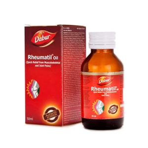 лечебное масло Dabur для суставов Ревматил (Rheumatil Oil), 50 мл.