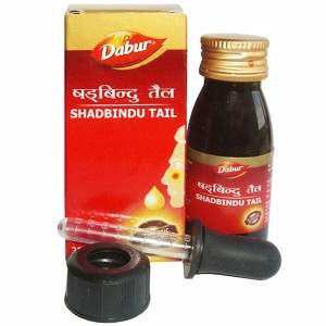 масло для носа Шадбинду (Shadbindu Tail Dabur), 50 мл.