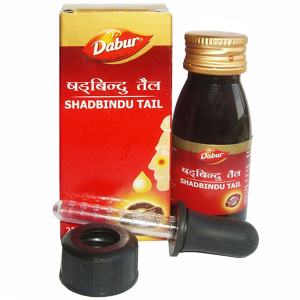 масло для носа Шадбинду (Shadbindu Tail Dabur), 50 мл.