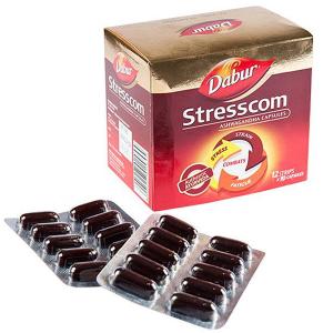 Стресском Ашвагандха (Stresscom Ashwagandha), 120 капсул
