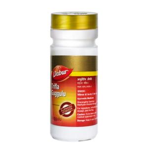 Трифала Гуггул Дабур (Triphala Guggulu Dabur), 80 таблеток