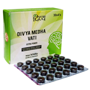 для мозга и памяти Медха Вати Дивья (Medha Vati Divya), 120 таблеток