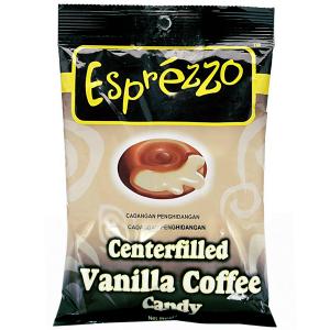 Леденцы кофейные с ванильной начинкой (Vanilla Coffee Esprezzo), 150 гр.