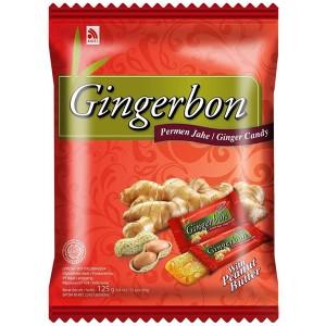 имбирные конфеты Джинджербон с арахисом (Gingerbon peanut butter candy) 20 шт - 125 гр.