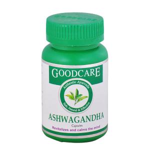 Ашвагандха Гудкеа (Ashwagandha Goodcare), 60 капсул