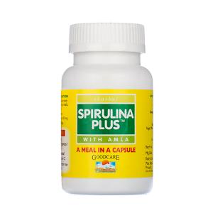 Спирулина Плюс с Амлой (Spirulina Plus Amla), 60 капсул
