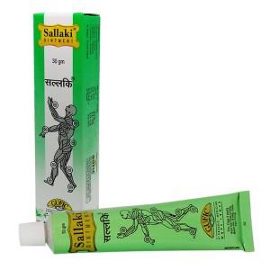 средство от суставных болей Шаллаки крем (Sallaki Ointment Gufic), 30 гр.