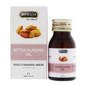 Масло горького Миндаля Хемани (Bitter Almond Oil Hemani), 30 мл.