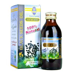 Масло Чёрного Тмина Хемани (Black Seed Oil Hemani), 60 мл.